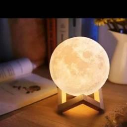 Luminária Lua Bluetooth