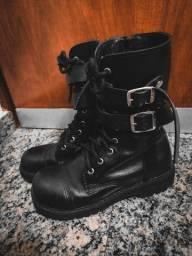 Coturno fivelas 37 Vilela Boots