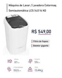 Oferta Imperdivel Tanquinho Colomarq 14 kG !!!