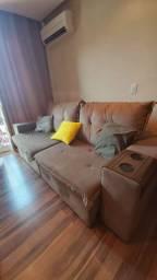 Vendo sofá  suede