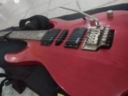Guitarra strinbergue semi nova 1.700 avista lê aí a descrição