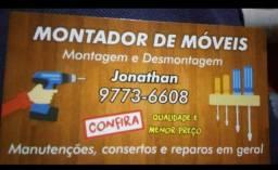 MONTADOR DE MÓVEIS. *)