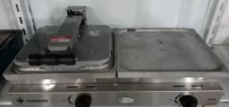 Sanduicheira conjugada a gás 70 alumínio  SCG70A Venâncio