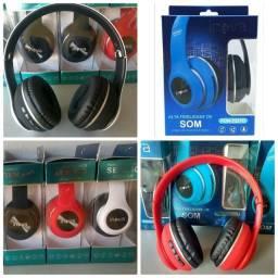 Headphone Fone de Ouvido Sem Fio Bluetooth