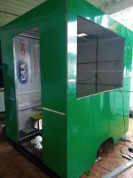 Trailer food truck semi pronto