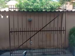 Portão de ferro duas portas 4,35x1,95