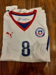 Camisa da seleção chilena reserva 2014 Puma