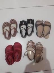 Calçados de criança