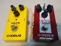 Pedal Fire Overdrive + Nux Chorus 400,00