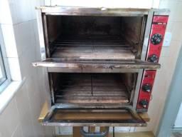 Vendo forno elétrico metalmaq 2 câmaras
