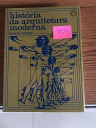 Livro: História da Arquitetura Moderna