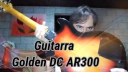 Guitarra Golden DC SG ar300 anos 80
