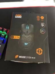 Mouse Gamer Ultraleve Oex Dyon Novo na Caixa