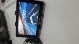 Gps e tv digital Foston fs-700dt . 7 pol . Novo . Completo