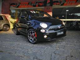 FIAT 500 - 2012 - 1.4 SPORT AIR 16V GASOLINA 2P MANUAL<br>