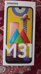 Samsung M31 zero na caixa