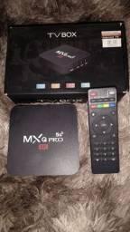 Tv Box Mxq Pro 4K<br><br>(LEIA A DESCRIÇÃO)