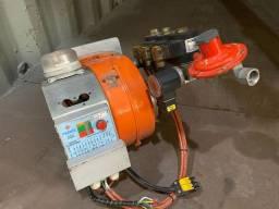 Queimador MB120 Holamaq com painel e ventilador para linha de pintura