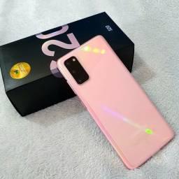 Samsung S20 Rosa 128gb Novo