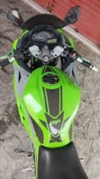 Kawasaki ninja 300 personalizada 2013 verde