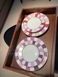 Pratos porcelana Stefan Behar