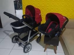 Carrinho Infanti Épic Lite com bebê conforto