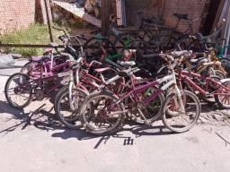 Lote de bicicletas