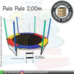 Pula Pula 2,00m Color  A pronta entrega - Promoção de queima de estoque!!