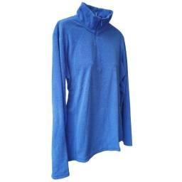 Jaqueta fleece Feminina Columbia Azul M
