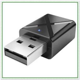 Adaptador Bluetooth 5.0 Receptor/Emissor 2 em 1 TV, PC. NOVO