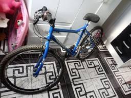 Bicicleta top aros novos aero rolamentado