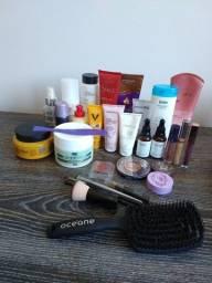 Vendo Kit produtos de beleza - cabelo, make e corpo