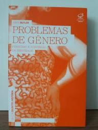 Livro Problemas de gênero.  NOVO!!!