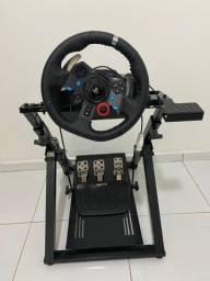 Volante G29 Logitech + Pedal + Cockpit