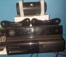 Xbox 360 / Kinect/ caixa de son JBL