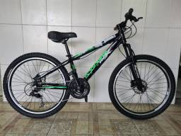 Bicicleta aro 26  alumínio freio a disco proX