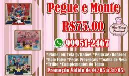 Pegue e Monte só R$75,00