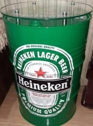 Tambor decorativo Heineken! Feito com material automotivo de Alta qualidade!