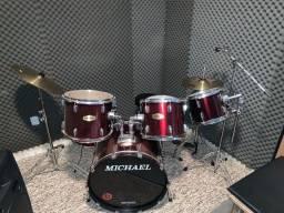 Bateria Michael Classics Completa