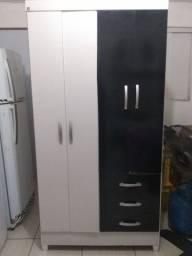 Guarda roupa solteiro 4 portas