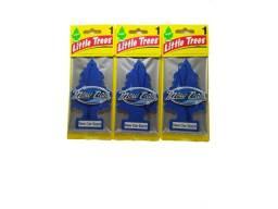 Kit 3 Little Trees Aromatizante Cheirinho Carro Original - New Car