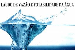 Laudo de Vazão e Potabilidade da Água de Poço