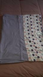 Sling, faixa de segurança e colar de Âmbar