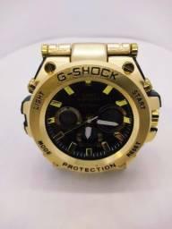 Relógio G-Shock Iron Man Dourado/Preto + Lata ( Embalagem ) G-Shock