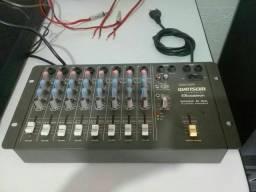 Mesa de som 8 canais  (contato na descrição)