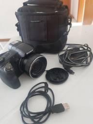 Câmera Sony Cyber Shot HX200V Lente Carl Zeiss