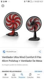 Vendo 2 ventilador o Grande e o De Mesa!