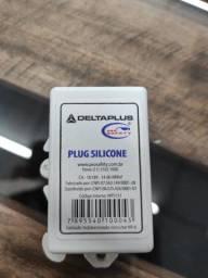 50 unidades Protetor auricular Deltaplus Silicone