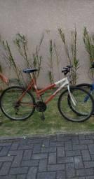 Bicicleta aro 26 e 18 marcha