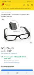 Oculos espiao novo + cartao 4Gb